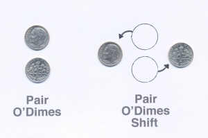 Pair o' dimes shift